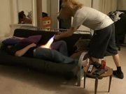 Fire Crotch Prank