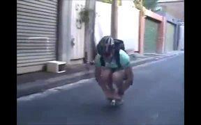 Tiny Backpack Bike