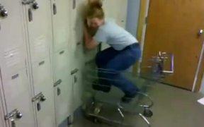 Girl Vs Lockers