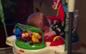Bouncing Sleeping Baby