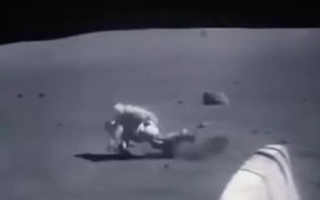Sped Up Moon Footage