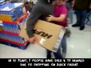 Black Friday Shopping Chaos Compilation 2018