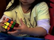 2 Year Old Solves Rubiks Cube