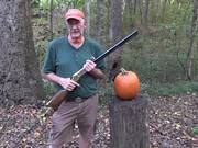 Gun Pumpkin Carving