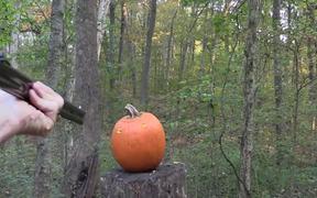 Gun Pumpkin Carving