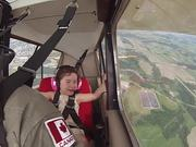 Little Girls Aerobatic Flight