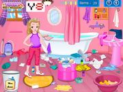 Little Girl Bathroom Cleaning Walkthrough
