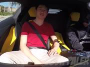 Batman Driving Uber