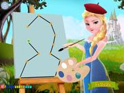 Elsa The Painter Walkthrough