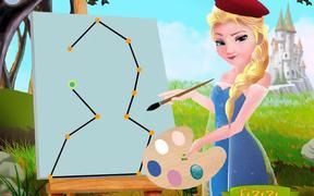Elsa The Painter Walkthrough