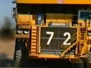 Huge Dump Truck Vs Car