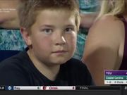 This Kid Is Amazing At Staring Contests