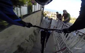 Urban Downhill Mountain Biking