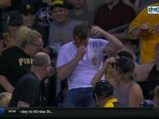 Pirates Fan Gets Nachos To The Face