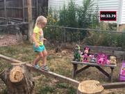 Dad Builds Ninja Warrior Course
