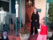 Little Girl Defends Her Brother