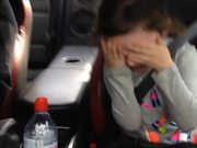 Little Girls Reaction To Some Fast Driving