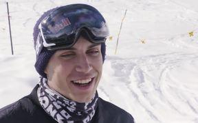 80 Mph Backwards Skiing