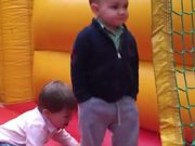 Coolest 2 Year Old Ever In A Bounce House