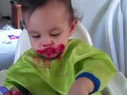 Babies Eating Beets