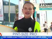Surfer Makes Fun Of Her Dad