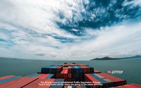 30 Days Timelapse at Sea