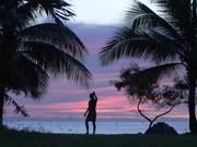 Caribbean Sunset Scene