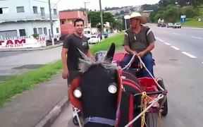 Modern Day Horse Carriage