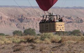 Balloons Over Atacama Desert