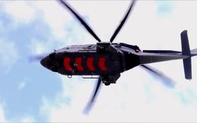 Acrobatic Helicopter