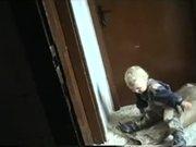Kid Rolling In Flour