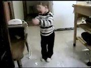 Kids on Drinking Milk