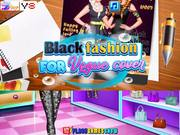 Black Fashion For Vogue Cover Walkthrough