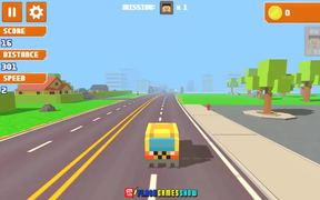 Pixel Road Taxi Depot Walkthrough