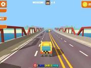 Pixel Road Taxi Depot Walkthrough