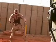 Dance Moves Of A Soldier