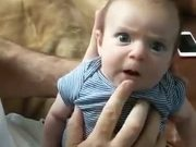 Kid With Dad's Voice!