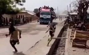 Its The Roller Coaster Ride In Africa