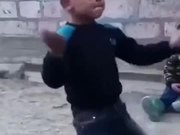The Kid Has Got Some Serious Moves