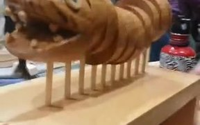 The Wooden Snail & Dragon Combo