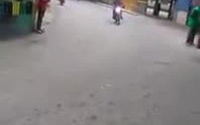 The Bike Landing Master Blaster