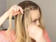 Waterfall Braid Step by Step Tutorial