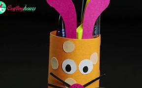 Rabbit Pencil Holder