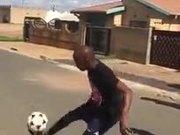 Mad Soccer Skills On Display
