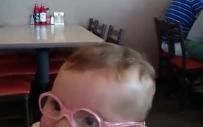 Toddler First Time Seeing The World Clearly