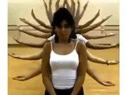 Amazing Multi-Hand Dance Technique