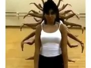 Amazing Multi-Hand Dance Technique