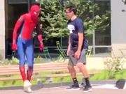 Spiderman Too Happy After Defeating Thanos