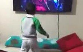 A Michael Jackson Impersonator!