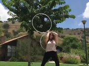 Mesmerizing Hoop Dance You Have Not Seen Before